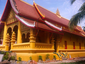 Wat Ong Theu, Viên Chăn