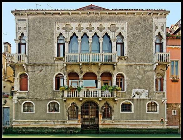 Mặt tiền lâu đài Mastelli - Ảnh: veniseparanormale