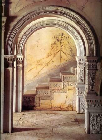Bên trong lâu đài Dario - Ảnh: nauplion