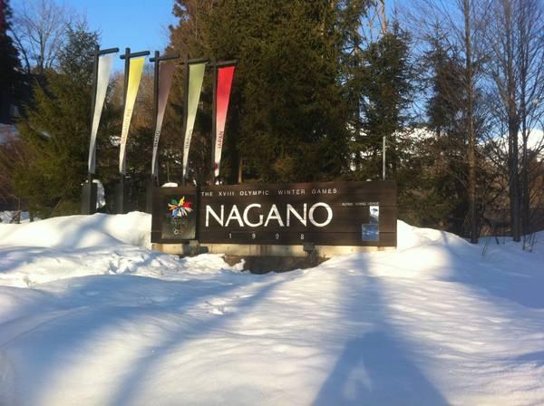 Thế vận hội mùa đông 1998 tại thành phố Nagano, Nhật Bản.