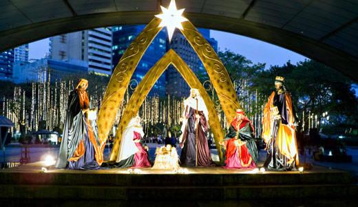 Philipines là điểm đến tốt nhất dành cho kỳ nghỉ Giáng sinh ở khu vực Đông Nam Á.