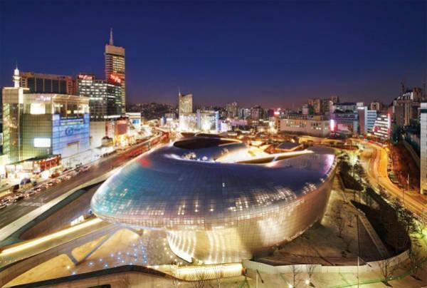 Trung tâm mua sắm Dongdaemun Design Plaza