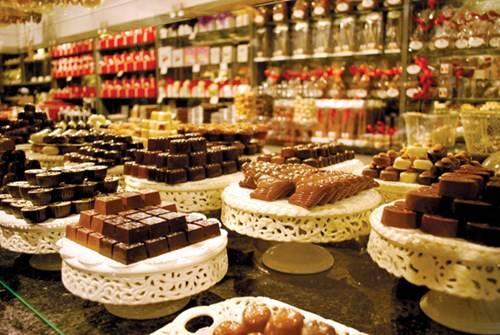 Sô cô la Bỉ nổi danh toàn cầu